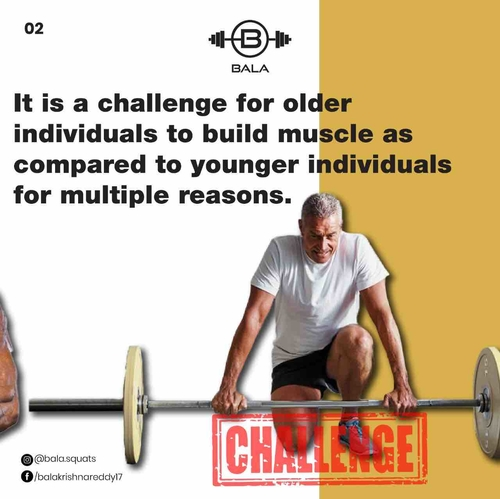 Does age play a major role in building muscle?