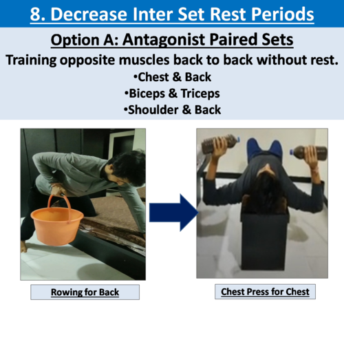15 WAYS TO MAKE YOUR HOME WORKOUT MORE EFFECTIVE TO ACHIEVE PROGRESSIVE OVERLOADING:PART 2