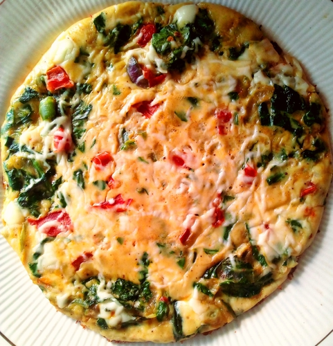 Spinach Egg Frittata