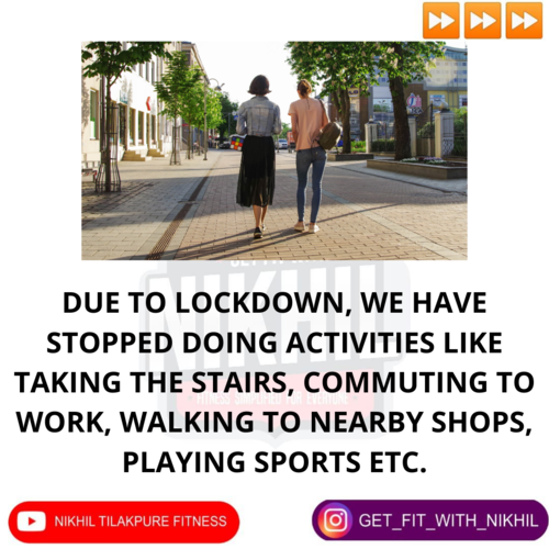 NEAT has become more important during lockdown