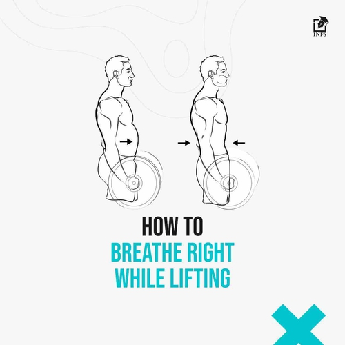 How To Breathe Right While Lifting?