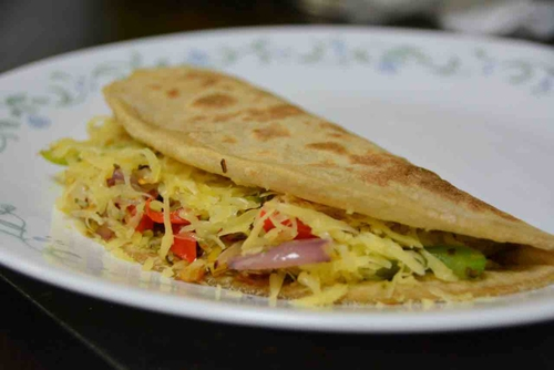 Chapati Quesadilla