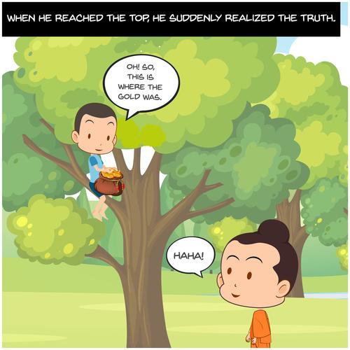 The Story Of Hidden Treasure
