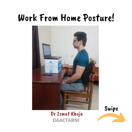 Work From Home Posture!