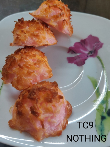 Rose Coconut Macaroons