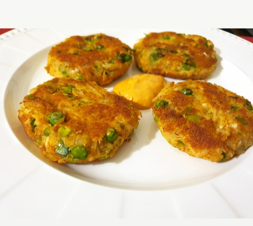 Chicken Aalu Tikki