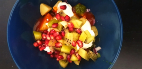 Aloo & Fruit Chat