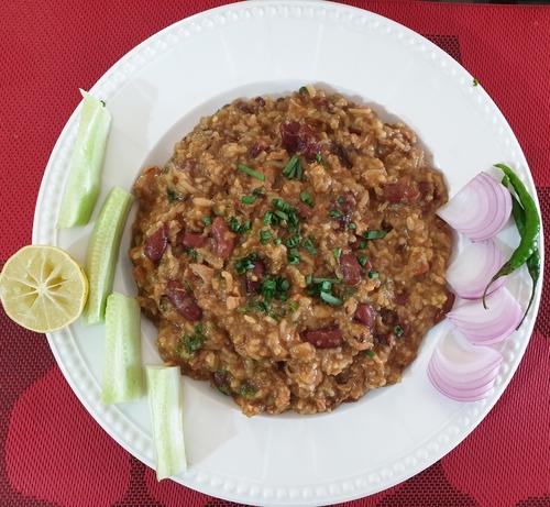 Rajma Chicken Khichdi