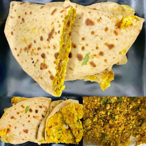 Stuffed Chicken Paratha