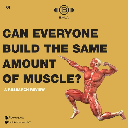 Can everyone build the same amount of muscle?