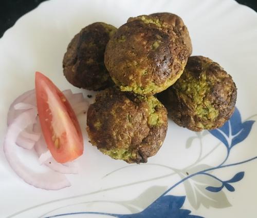 Soybean falafel