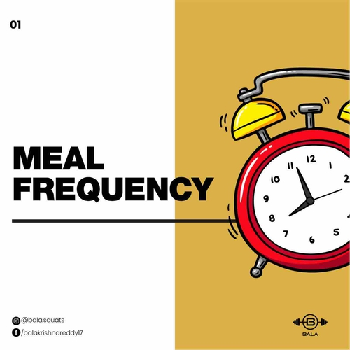 Everything about meal frequency