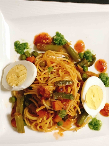 Indian Street-Style Chowmein