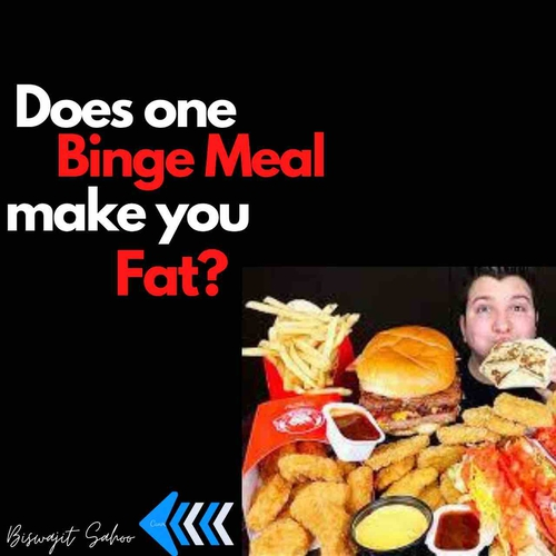Does one Binge Meal Make you Fat?