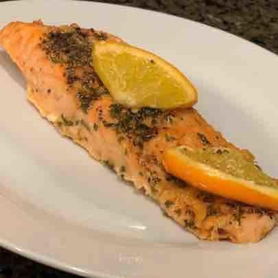 Orange Roasted Salmon