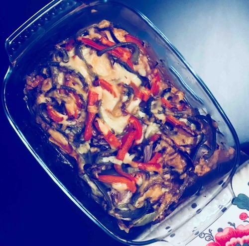 Chicken Fajita Bake