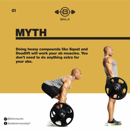 A common myth about Abs.
