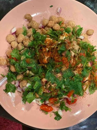 Crunchy soy chat