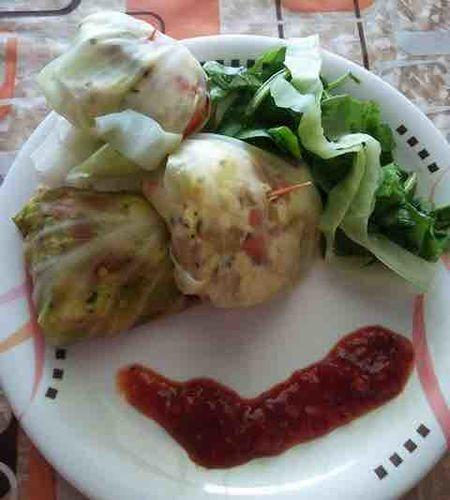 Cabbage Momos