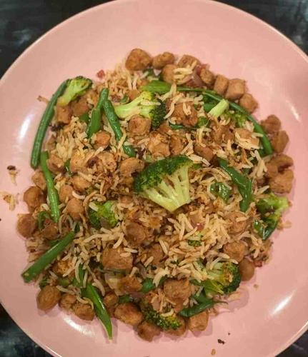 Soya Schezwan Fried Rice