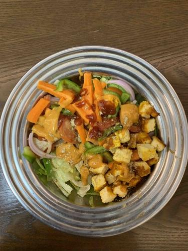 Paneer Salad Subway Jaisa 🥗😋