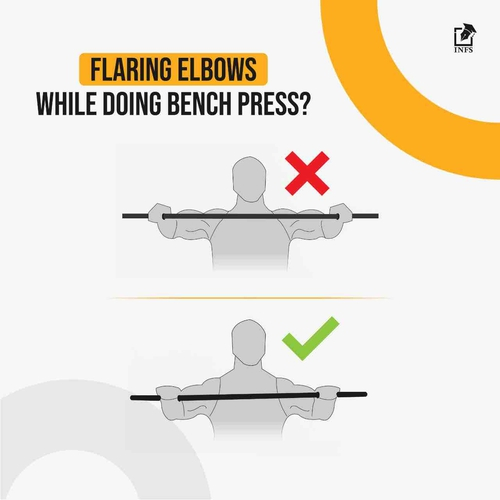 Flaring Elbows While Doing Bench Press?
