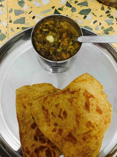 dal makhni and soya wheat paratha