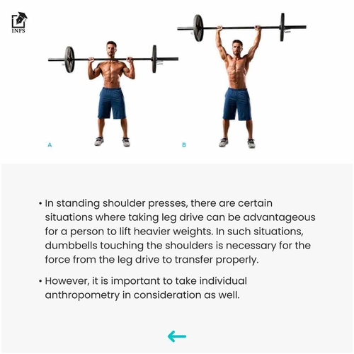 Shoulder Press - Range Of Motion