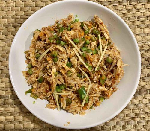Shredded Chicken Schezwan Rice