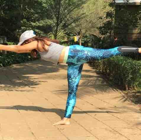 Yoga For Balance - Virabhadrasana (Warrior Pose)