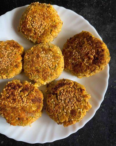 Soya Rajma Cheesy Kababs