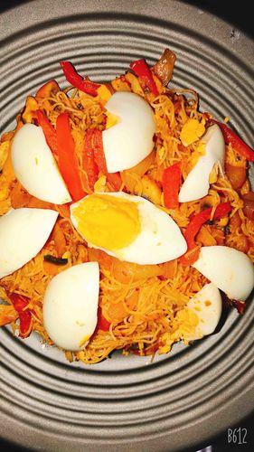 Egg Macaroni