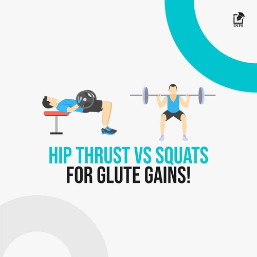 Hip Thrust VS Squats For Glute Gains!