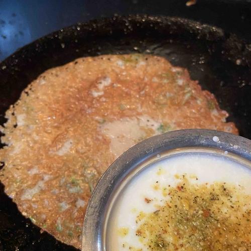 Soya chunks flour dosa