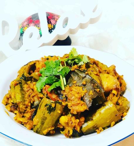 potol ghonto(parwal rice)