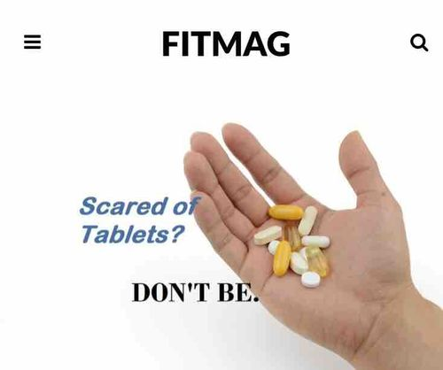 Can I follow this diet without tablets? – The fear of tablets!