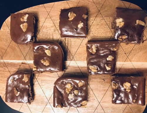 Protein Whey Brownies (Flourless)