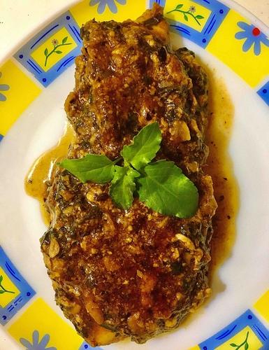 Garlic-herb mix chicken breast