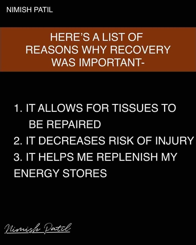 Why Recovery is very Important?