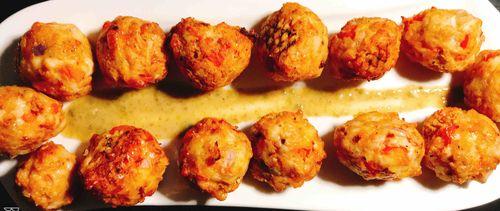 Cheese Chicken Balls