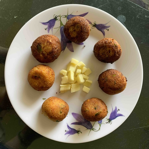 Chickpea Paneer Cheese Balls