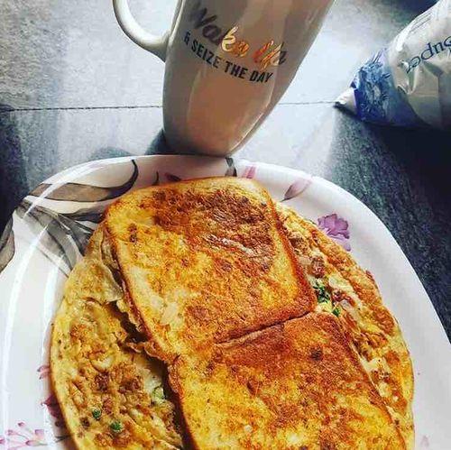 Street-style Omelette Bread