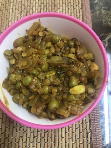 Chatpata lauki masoor bhaji