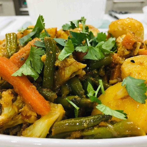 Mixed Vegetable Curry (Sabzi)