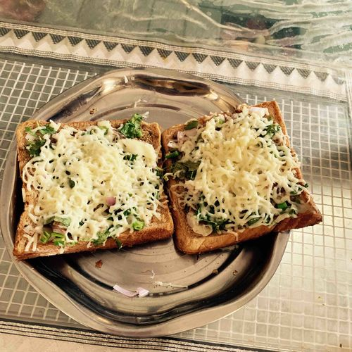 cheese chilli sandwich