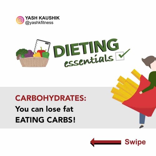 Dieting Essentials: Carbohydrates⁣ YOU CAN LOSE FAT EATING CARBOHYDRATES