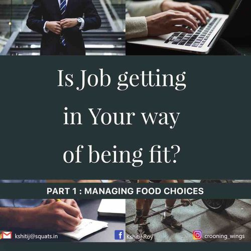 Is your job stopping you from being fit? Can you manage it?