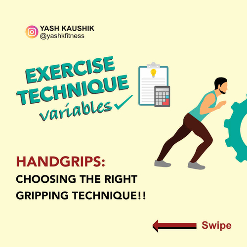 Exercise Technique - Handgrips! Choosing the right gripping technique.