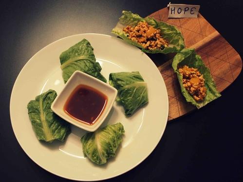 Paneer Lettuce Wraps