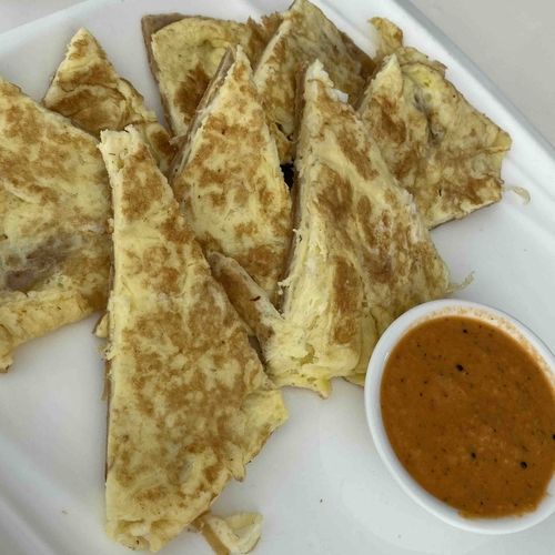 Protein on the Carbs- Egg Paratha